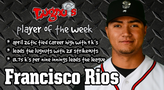 Player of the Week - Rios April 27th